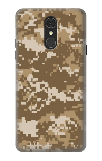 Printed Army Camo Tan LG Q7 Case