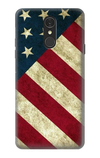 Printed US National Flag LG Q7 Case