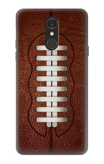 Printed Leather Vintage Football LG Q7 Case