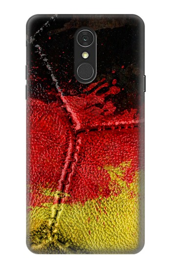 Printed Germany Flag Vintage Football 2018 LG Q7 Case