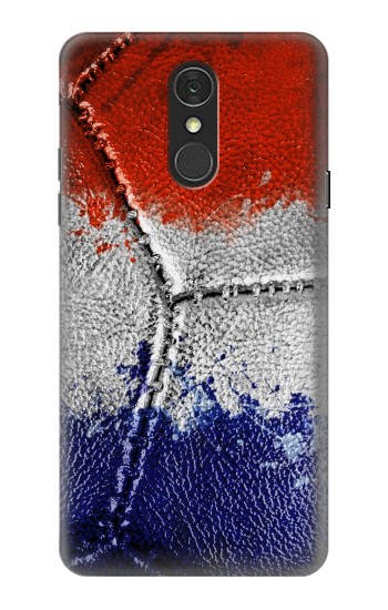 Printed France Flag Vintage Football 2018 LG Q7 Case
