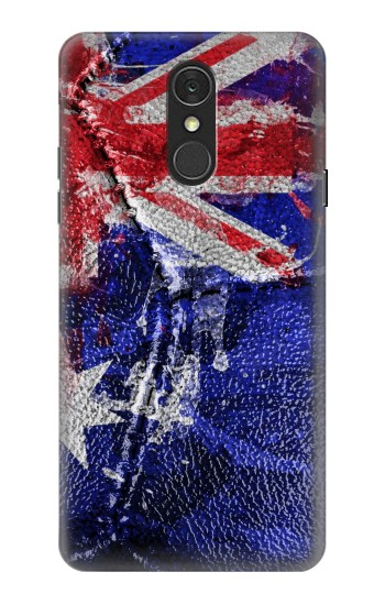 Printed Australia Flag Vintage Football 2018 LG Q7 Case