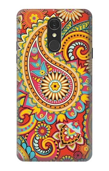 Printed Floral Paisley Pattern Seamless LG Q7 Case