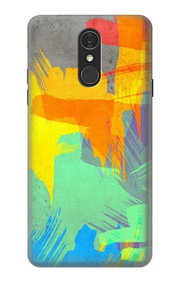 Printed Brush Stroke LG Q7 Case