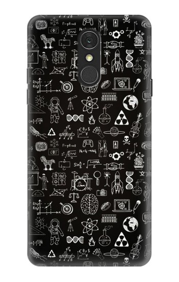 Printed Blackboard Science LG Q7 Case