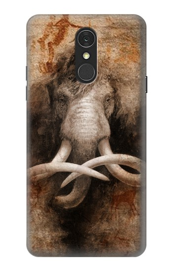 Printed Mammoth Ancient Cave Art LG Q7 Case