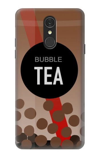 Printed Bubble Tea LG Q7 Case