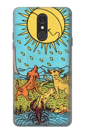 Printed Tarot Card Moon LG Q7 Case