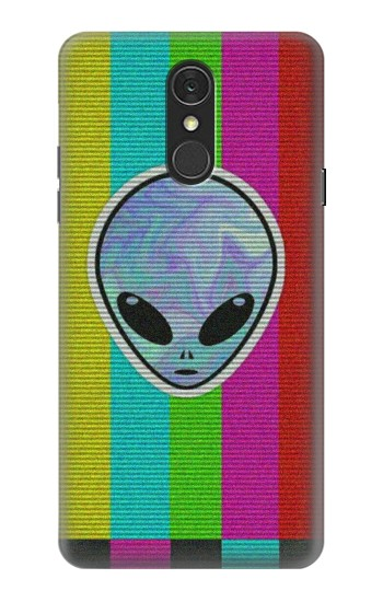 Printed Alien No Signal LG Q7 Case