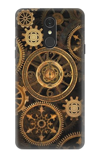 Printed Clock Gear LG Q7 Case