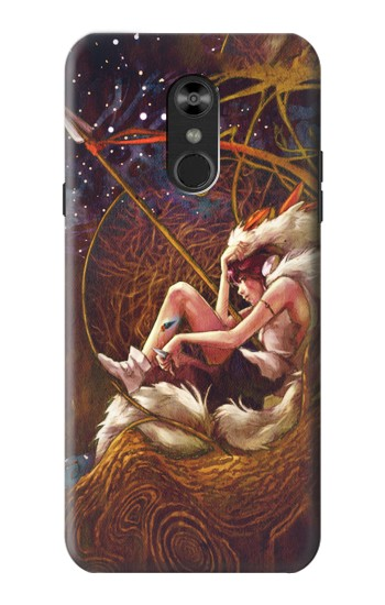 Printed Princess Mononoke The Spirit Princess LG Q Stylo 4, LG Q Stylus Case