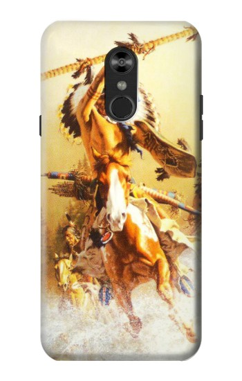 Printed Red Indian Warrior LG Q Stylo 4, LG Q Stylus Case