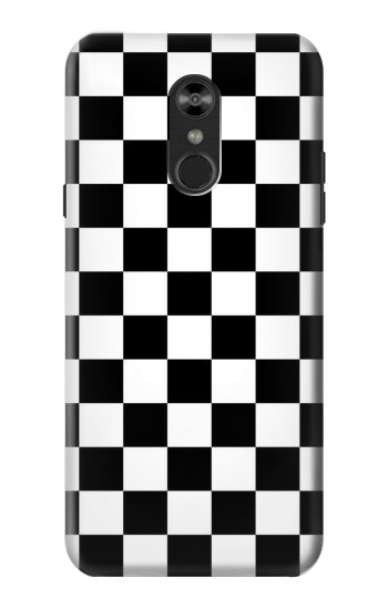Printed Checkerboard Chess Board LG Q Stylo 4, LG Q Stylus Case