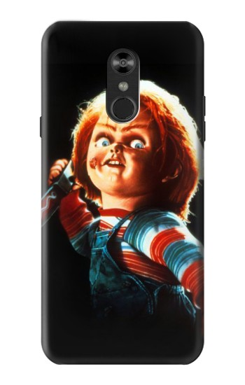 Printed Chucky With Knife LG Q Stylo 4, LG Q Stylus Case