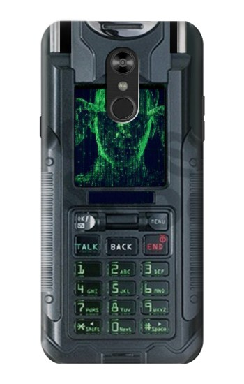 Printed The Matrix Mobile Phone Graphic Printed LG Q Stylo 4, LG Q Stylus Case