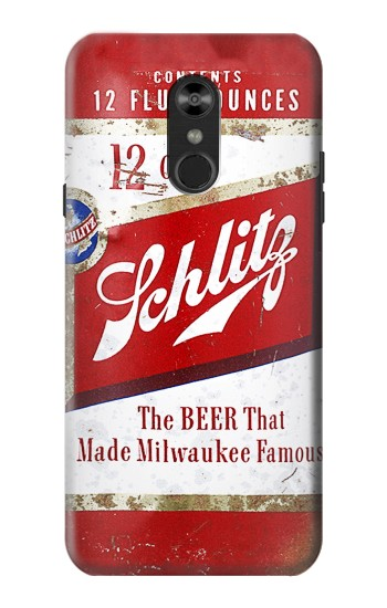 Printed Vintage Schlitz Beer Can LG Q Stylo 4, LG Q Stylus Case