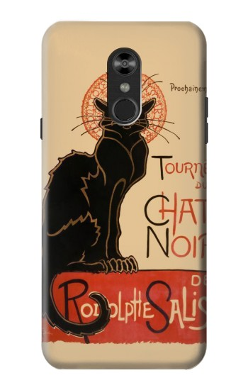 Printed Chat Noir The Black Cat LG Q Stylo 4, LG Q Stylus Case