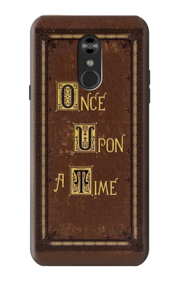 Printed Once Upon a Time Book Cover LG Q Stylo 4, LG Q Stylus Case