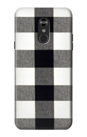 Printed Black and White Buffalo Check Pattern LG Q Stylo 4, LG Q Stylus Case