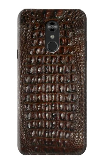 Printed Brown Skin Alligator Graphic Printed LG Q Stylo 4, LG Q Stylus Case