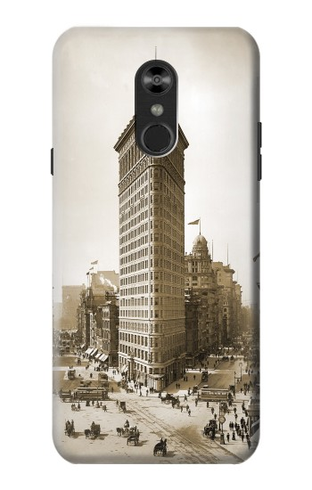 Printed Old New York Flatiron Building LG Q Stylo 4, LG Q Stylus Case