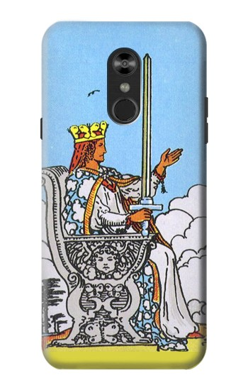 Printed Tarot Card Queen of Swords LG Q Stylo 4, LG Q Stylus Case