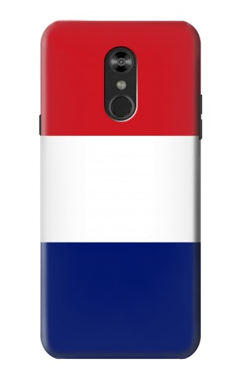 Printed Flag of France and the Netherlands LG Q Stylo 4, LG Q Stylus Case