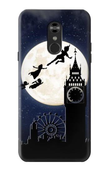 Printed Peter Pan Fly Fullmoon Night LG Q Stylo 4, LG Q Stylus Case
