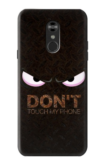 Printed Do Not Touch My Phone LG Q Stylo 4, LG Q Stylus Case