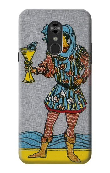 Printed Tarot Card Page of Cups LG Q Stylo 4, LG Q Stylus Case