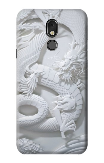 Printed Dragon Carving LG Stylo 5 Case