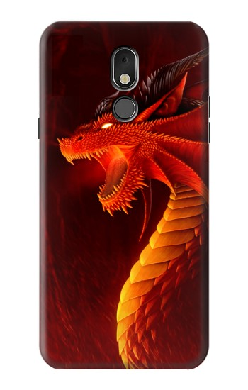Printed Red Dragon LG Stylo 5 Case