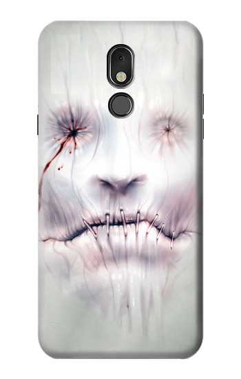 Printed Horror Face LG Stylo 5 Case