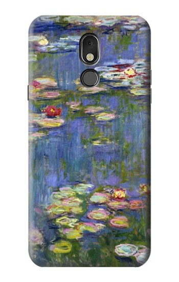Printed Claude Monet Water Lilies LG Stylo 5 Case