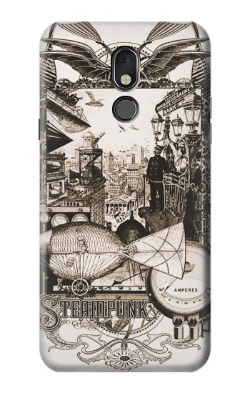 Printed Steampunk Drawing LG Stylo 5 Case
