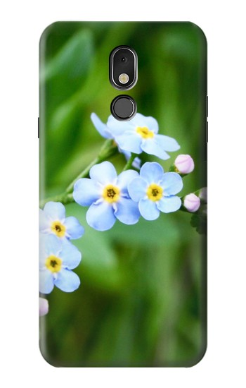 Printed Forget Me Not LG Stylo 5 Case