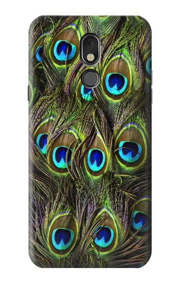 Printed Peacock Feather LG Stylo 5 Case