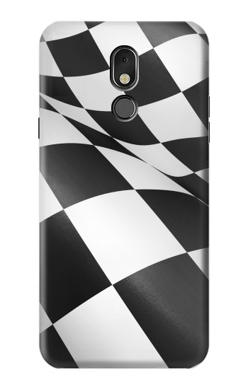 Printed Checkered Winner Flag LG Stylo 5 Case