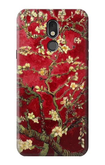 Printed Red Blossoming Almond Tree Van Gogh LG Stylo 5 Case