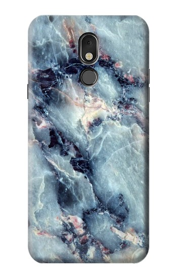 Printed Blue Marble Texture LG Stylo 5 Case