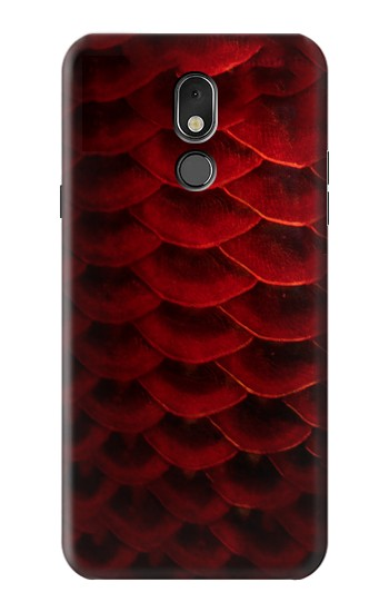 Printed Red Arowana Fish Scale LG Stylo 5 Case