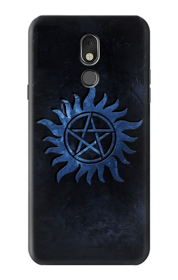 Printed Supernatural Anti Possession Symbol LG Stylo 5 Case