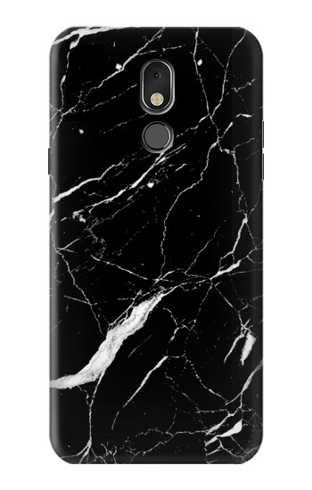 Printed Black Marble Graphic Printed LG Stylo 5 Case