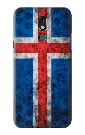 Printed Iceland Football Flag LG Stylo 5 Case
