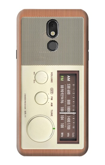 Printed FM AM Wooden Receiver Graphic LG Stylo 5 Case