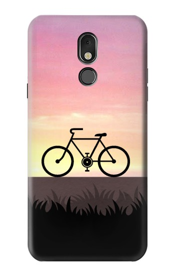 Printed Bicycle Sunset LG Stylo 5 Case
