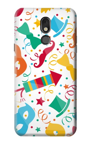 Printed Carnival Pattern LG Stylo 5 Case