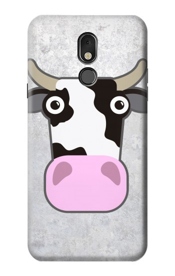 Printed Cow Cartoon LG Stylo 5 Case