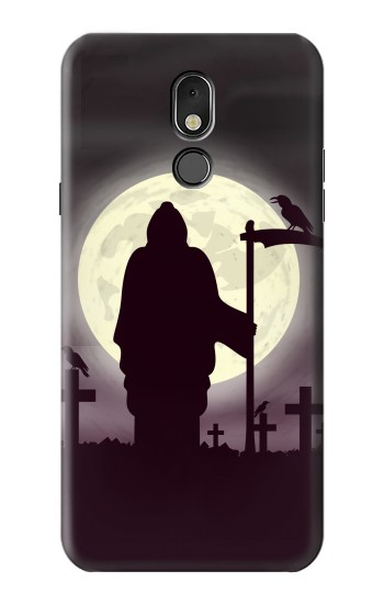 Printed Night Moon Cemetery LG Stylo 5 Case