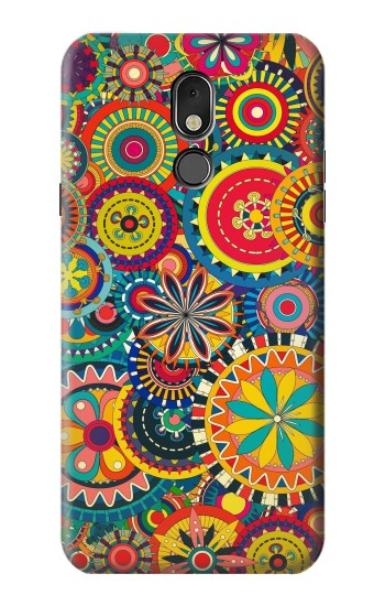Printed Colorful Pattern LG Stylo 5 Case